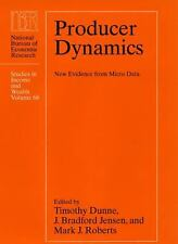 Producer Dynamics: New Evidence from Micro Data (National Bureau of Economic Res