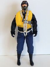 "1/4.5 ~ 1/4 Scale 15"" Tall WWII German Luftwaffe RC Pilot w/ Servo Operated Head"