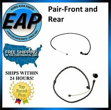 For 2004-2010 BMW X3 E83 3.0L 2.5L PAIR FRONT & REAR Brake Pad Wear Sensor NEW