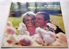 Al Martino Mary In The Morning 1967 Capitol ST 2780 Pop 33rpm Vinyl LP Strong VG
