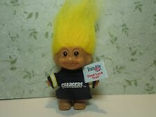 """SAN DIEGO CHARGERS SPORTS TROLL - 3"""" Russ Troll Doll - NEW STORE STOCK"""