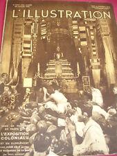 L'ILLUSTRATION  1931 28 pages sur L'EXPOSITION COLONIALE