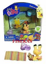 LPS Littlest Pet Shop Postcard Pets Hermit Crab #1008 NEW