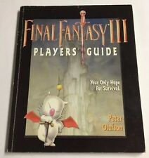 Final Fantasy III 3 Peter Olafson Official Strategy Player's Guide Hint Book