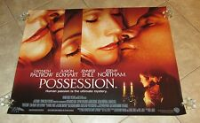 POSSESSION movie poster (UK Quad)  GWYNETH PALTROW poster, AARON ECKHART poster