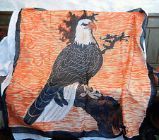 Large American Eagle Cotton Scarf / Wall Hanging