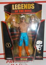 TNA Wrestling Jakks Ruthless Legends of the Ring Sting Figure WWE Classic