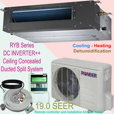 12000 BTU PIONEER Inverter+ Ducted Ceiling Concealed Split Heat Pump + Inst. Kit