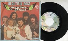 GEORGE BAKER disco 45 g MADE in ITALY Beautiful rose STAMPA ITALIANA 1977