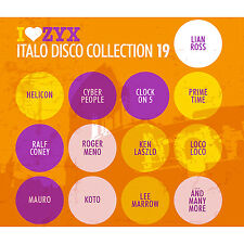 Italo CD ZYX Italo Disco Collection 19    3CDs