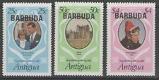 Barbuda sg572/4 1981 Matrimonio Reale Gomma integra, non linguellato