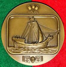 BOATS/FAMOUS BOATS /COGA HANSEÁTICA NORDIC BRONZE MEDAL BY J. ALVES