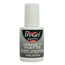 SuperNail ProGel UV Gel Polish #187 Make It Matte Top Coat 0.5oz 14ml