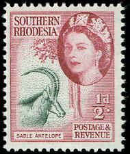Scott # 81 - 1953 - ' Queen Elizabeth II & Sable Antelope '