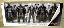 "DC Collectibles BATMAN ARKHAM VIDEO GAME 6.75"" Figure 5-Pack City Asylum Knight"