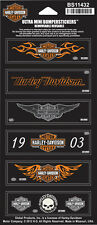 "Harley-Davidson Decals ""RIDERS ASSORTMENT"" Aufkleber *BS11432* 6-teilig"