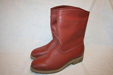 Vtg RED WINGS Irish Setter Insulated Motorcycle Boots 1980s Pecos 8.5 D EUC USA