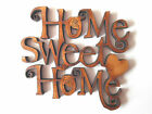 WOODEN HOME SWEET HOME SHAPES gift/craft/card/embellishment/tag/make/scrapbook