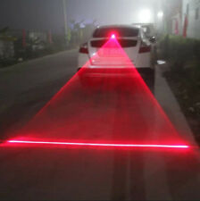 Car Fog Light LED Laser Red Rear Anti-Collision Taillight Warning Signal Lamp #p