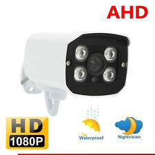 1080P AHD Bullet Camera 2MP HD Analog CCTV Outdoor Security Night Vision System