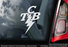 Elvis - TCB Taking Care of Business - Car Window Sticker - Rock Music Sign -TYP6
