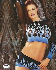Lita Signed WWE 8x10 Photo PSA/DNA COA Pro Wrestling Diva Picture Autograph 4