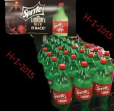 LEBRON's MIX SPRITE 2 LITER 2015 limited edition   RARE   Sold out in stores