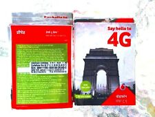 New! 4G VODAFONE INDIAN sim card for INTERNET/VOICE India (micro regular nano)