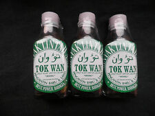 3 x 30 ml Glass Bottles Leech Oil Minyak Lintah Improves Blood Flow,Enlargement