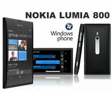 Nokia Lumia 800 - Black - 16 GB Unlocked Windows Smartphone Touchscreen 8MP