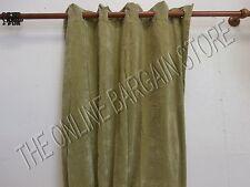 Ballard Designs Bronze Grommet Velvet Drapes Panels Curtains Lined Apple 54x96