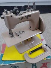 Vintage Singer Sewhandy Child's Sewing Machine 1950s, Singer 20 Boxed with Book