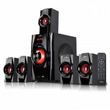 NEW*BEFREE*5.1 CHANNEL Surround Sound BLUETOOTH Home Theater SPEAKER SYSTEM*Red