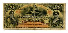Chile ... P-S279r ... 20 Pesos ... 19XX(1888) ... *VG+*