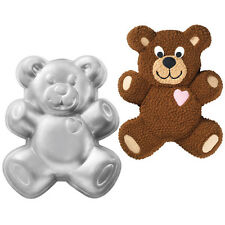 Wilton Novelty Teddy Bear Birthday Cake Baking Tin Pan