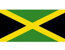 Jamaican Jamaica National Large Flag 5 X 3 Ft  Eyelets For Hanging