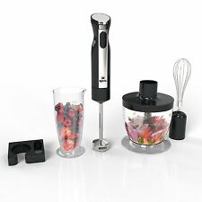 Royal 3-In-1 Hand Blender [200 Watts] - 2 Speed Hand Processor/Chopper