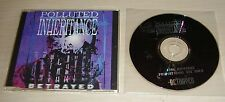 POLLUTED INHERITANCE Betrayed CD Promo 1996 DSFA Dutch