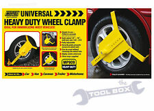 "Wheel Clamp 10"" to 16"" Heavy Duty Universal forTrailer Caravan or Car MP909"