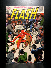 COMICS: DC: The Flash #195 (1970), Neal Adams cover -RARE (justice/batman)