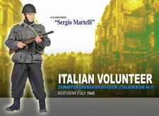 "Dragon 1/6 Scale 12"" WWII German Italian Volunteer 1945 Sergio Martelli 70492"