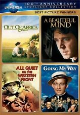 BEST PICTURE WINNERS SPOTLIGHT COLLECTION New 4 DVD Out of Africa Beautiful Mind