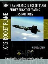 X-15 Rocket Plane Pilot's Flight Operati by Periscope Film.Com (2007, Paperback)