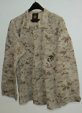 USMC MCCUU DESERT MARPAT CAMOUFLAGE CAMO BLOUSE SHIRT MEDIUM REGULAR