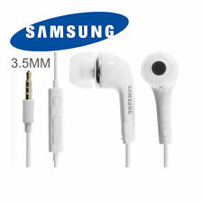 Original Samsung EHS64AVFWE (YL) 3.5mm Stereo Headset with Remote and Mic -White