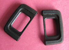 2X Rubber EyeCup Eyepiece DK-25 For Nikon D3400 D3300 D3200 D3100 D5000 D5300