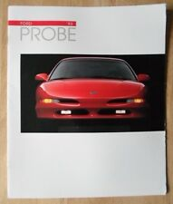 Ford Probe Orig 1993 Usa Mkt folleto de ventas-Gt