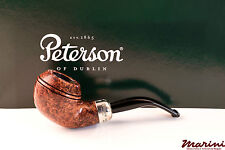 PIPA PIPE PETERSON OF DUBLIN ARMY BROWN 999 SEMICURVA RADICA ORIGINALE