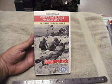 Reader's Digest Great Battles of WW2 Victory in The Pacific Vol. 2 VHS Tape