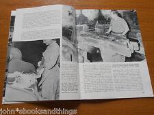 1964 LA CARTA A MANO PRODUZIONE ARTIGIANATO PESCIA CARTIERA MESTIERE ANTICO